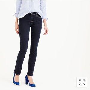 J. Crew Matchstick Straight Jeans